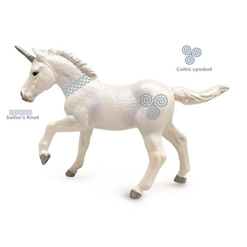 Figurina Unicorn manz Collecta, 17 cm, 3 ani+ 2021 shopu.ro