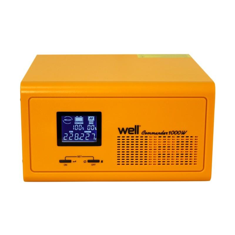 UPS centrale termice Well Commander 230V/1000W, 2 x Schuko shopu.ro