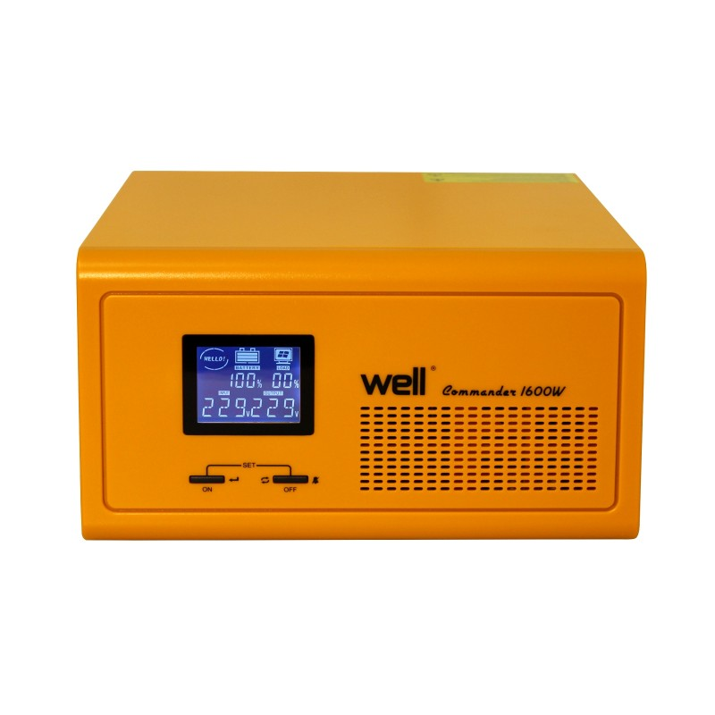 UPS centrale termice Well Commander 230V/1600W, 2 x Schuko shopu.ro