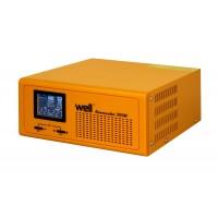Sursa UPS Well pentru centrale termice, 300 W IP20, pur sinus, 230V,UPS, functie incarcare baterie