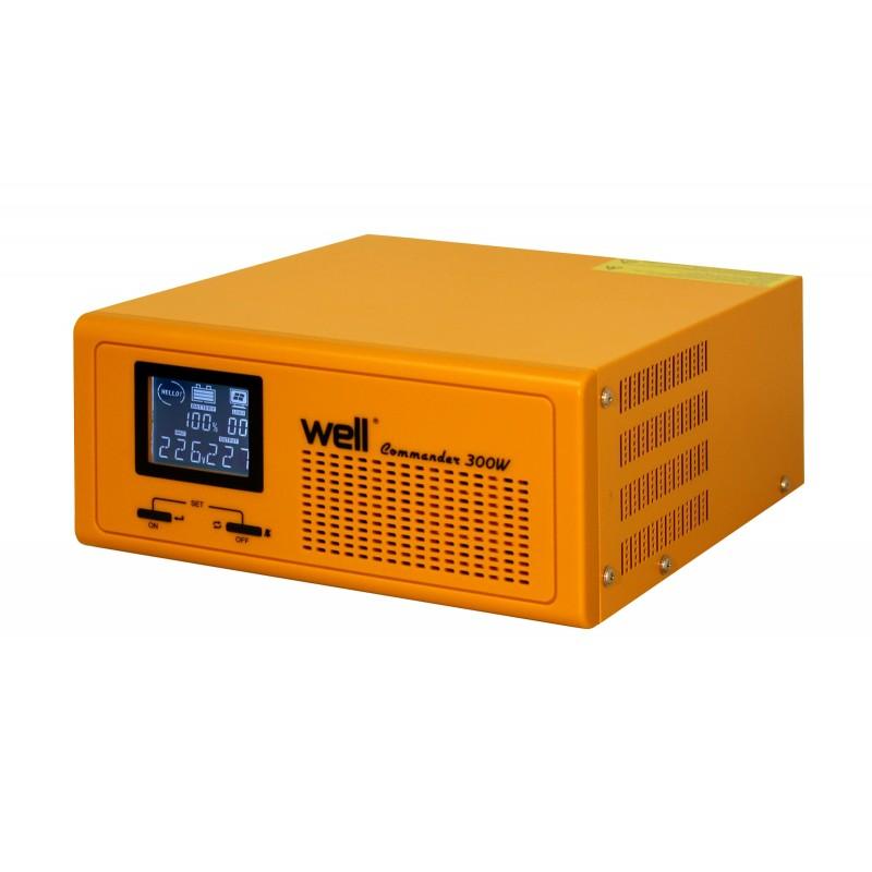 Sursa UPS Well pentru centrale termice, 300 W IP20, pur sinus, 230V,UPS, functie incarcare baterie shopu.ro