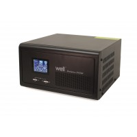 UPS centrale termice Well Evolution, controller solar, 1000 W