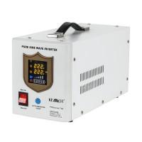 UPS cu sinus pur Kemot, 12 V, 700 W, curent incarcare 10 A, unda sinusoidala pura