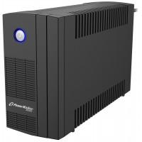 UPS line interactiv Powerwalker, 2 x Shuko, baterie 12 V / 5 Ah, 650 VA, 360 W