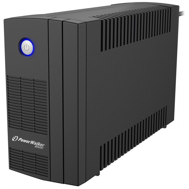 UPS line interactiv Powerwalker, 2 x Shuko, baterie 12 V / 6 Ah, 850 VA, 480 W shopu.ro