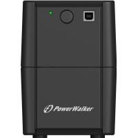 UPS line interactiv PowerWalker, 850VA/480W, iesire 2 x Shuko, baterie 12V/9Ah