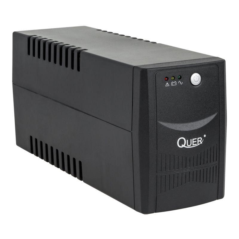 UPS Micropower Quer 600, 600VA/360W, Negru shopu.ro