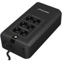 UPS off-line PowerWalker, 800VA/480W, indicator LED, unda sinusoidala simulata