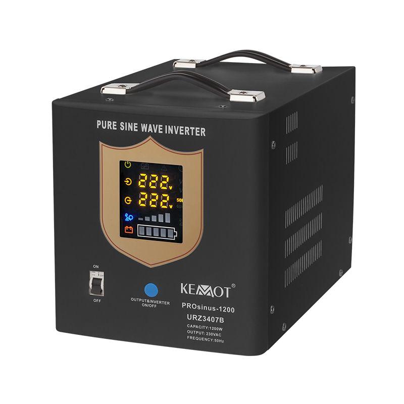 UPS pentu centrale termice Kemot, cu sinus pur, 12 V / 1200 W shopu.ro