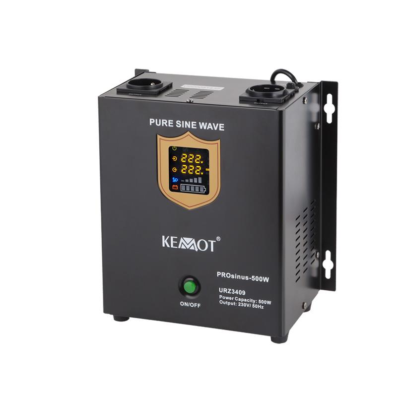 UPS perete centrale termice Kemot cu sinus pur, 12 V / 500 W shopu.ro
