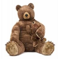 Urs brun de plus Melissa and Doug, 79 x 79 x 84 cm, maro