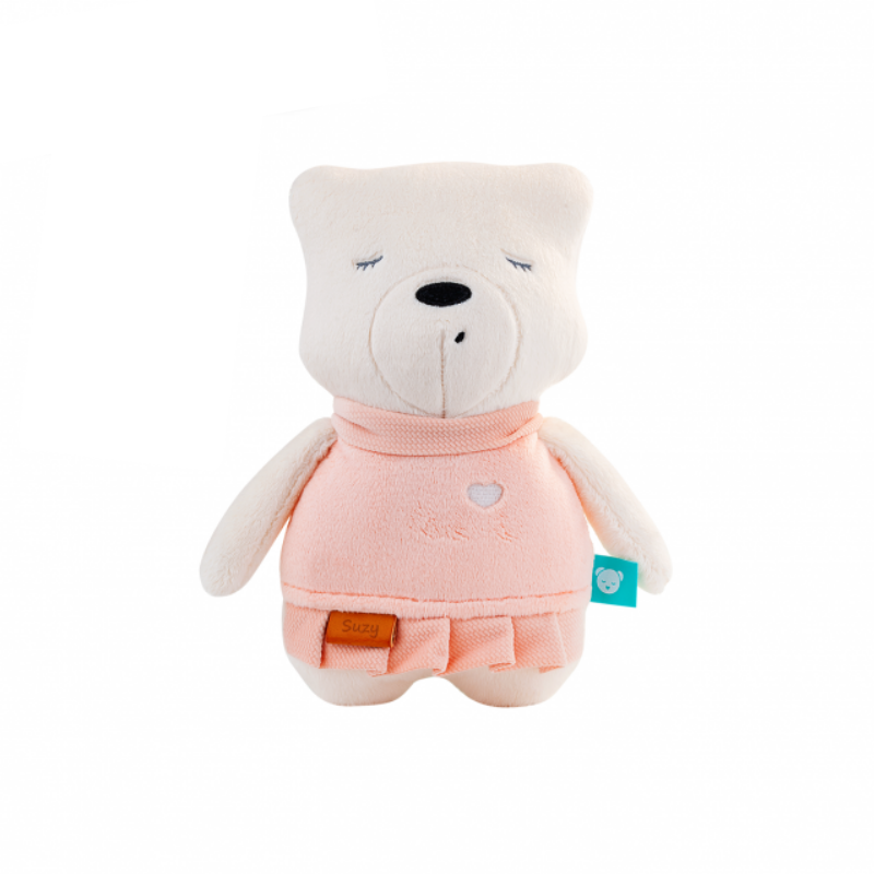 Ursulet myHummy Suzy Premium, aplicatie mobil, senzor somn, 12 x 19.5 x 38 cm 2021 shopu.ro