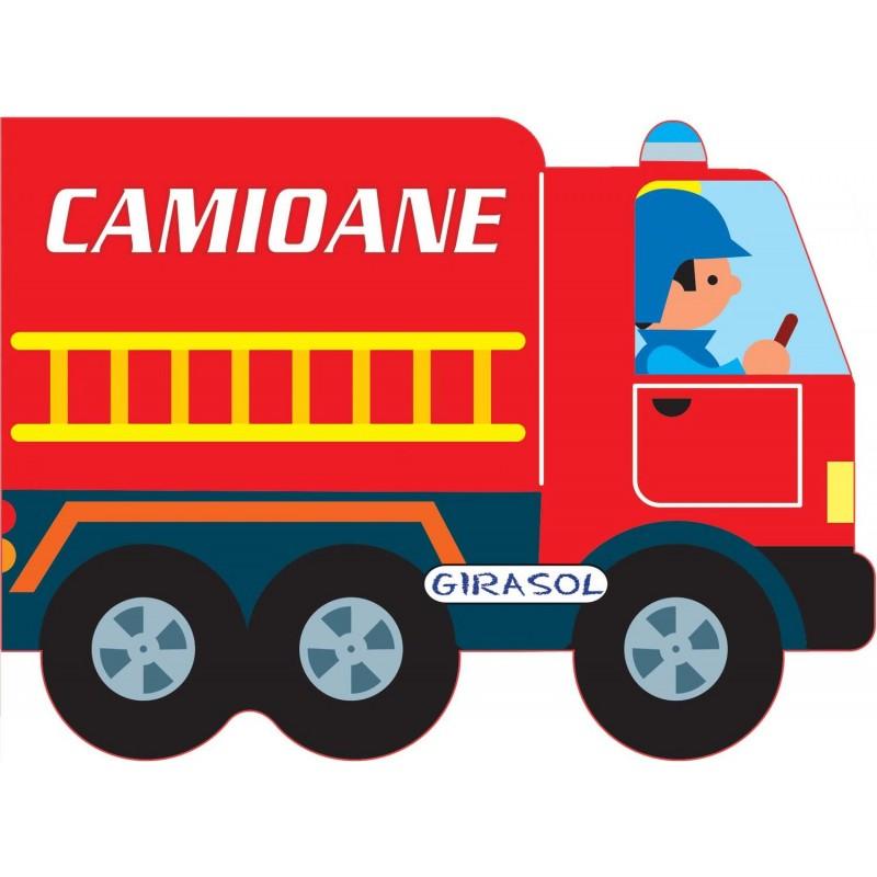 Carte cu imagini Camioane Girasol, 10 pagini, 3 ani+ imagine