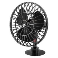 Ventilator auto Peiying, 5 W, 10 cm, Negru