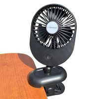 Ventilator Silene Esperanza, 2 W, USB, 3 nivele ventilatare, Negru