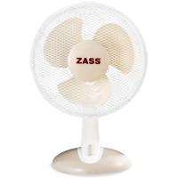 Ventilator de birou Zass, 46 W, 3 viteze, functie oscilare, Alb