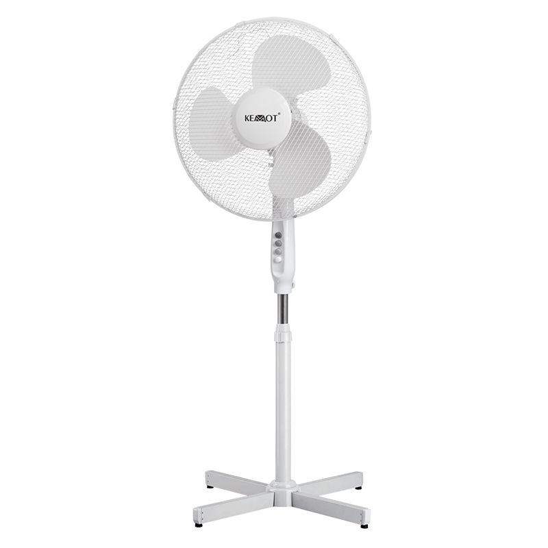 Ventilator picior Kemot, 45 W, 3 viteze, miscare oscilanta 2021 shopu.ro