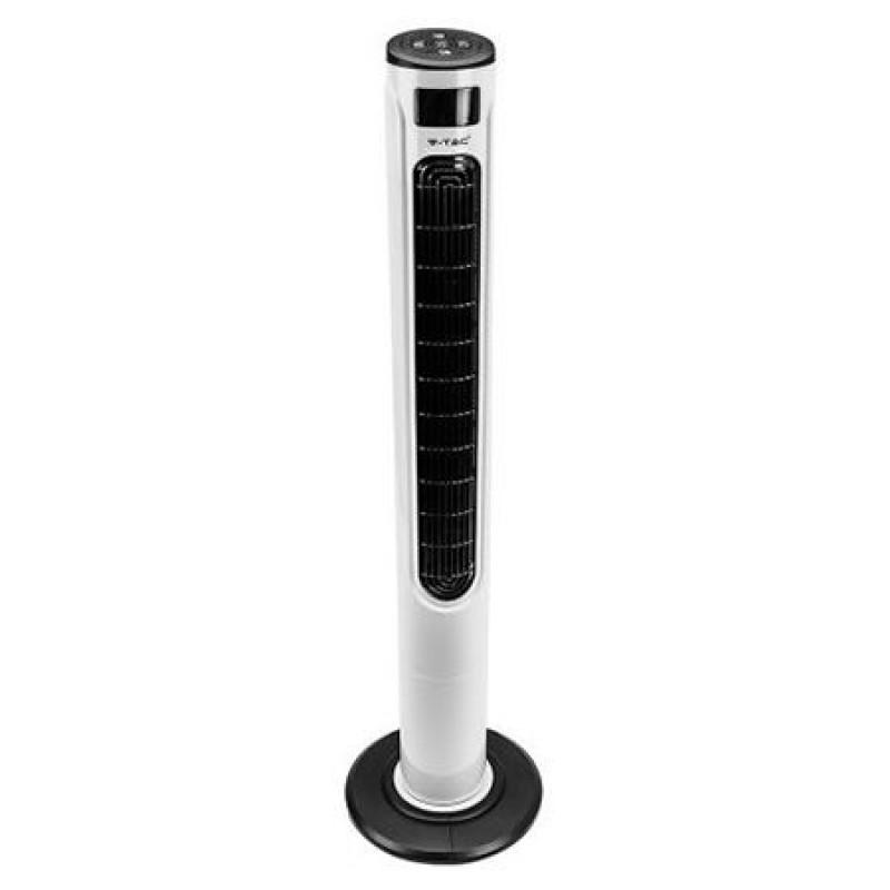 Ventilator Smart, 55 W, 3 viteze, 120 cm, display, aplicatii Google Home/Amazon Alexa, telecomanda 2021 shopu.ro