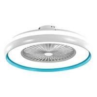Ventilator tavan cu iluminare 3 in 1 V-Tac, 45 W, telecomanda