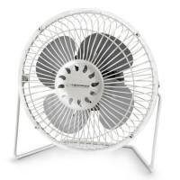 Ventilator de birou Yugo Esperanza, 2.5 W, USB, Alb