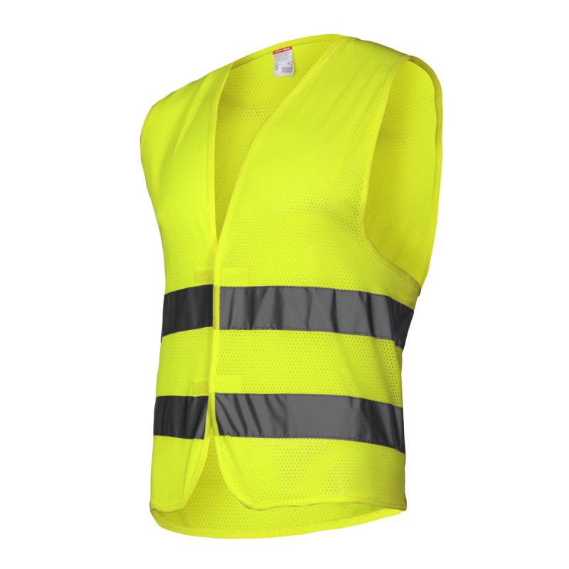 Vesta reflectorizanta tip plasa Lahti Pro, marimea L, verde 2021 shopu.ro