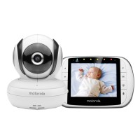 Video Monitor Digital Bidirectional Motorola MBP36SC, ecran LCD 3.5 inch, sistel de reglare Pan, Tilt, and Zoom