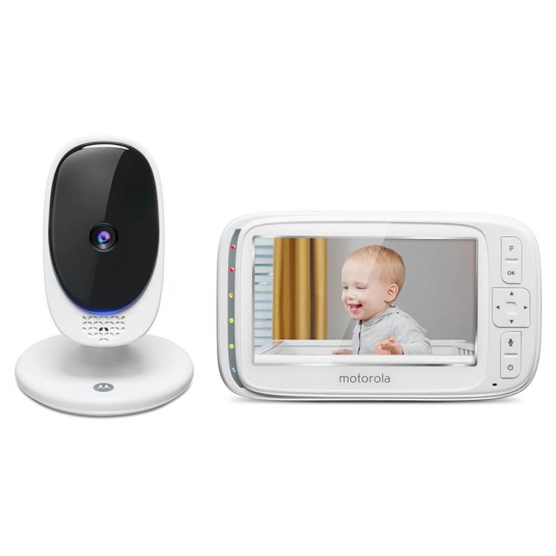 Video monitor Digital Comfort50 Connect Motorola, ecran LCD color 5 inch, Wi Fi, avertizare sonora 2021 shopu.ro