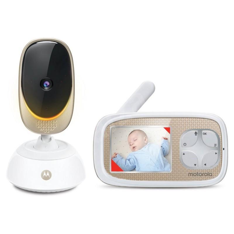 Video monitor Digital Comfort45 Connect Motorola, ecran LCD color 2.8 inch, Wi Fi, raza actiune 300 m, avertizare sonora 2021 shopu.ro