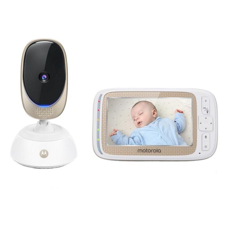 Video monitor Digital Comfort85 Connect Motorola, ecran LCD color 5 inch, Wi Fi, raza actiune 300 m, avertizare sonora 2021 shopu.ro