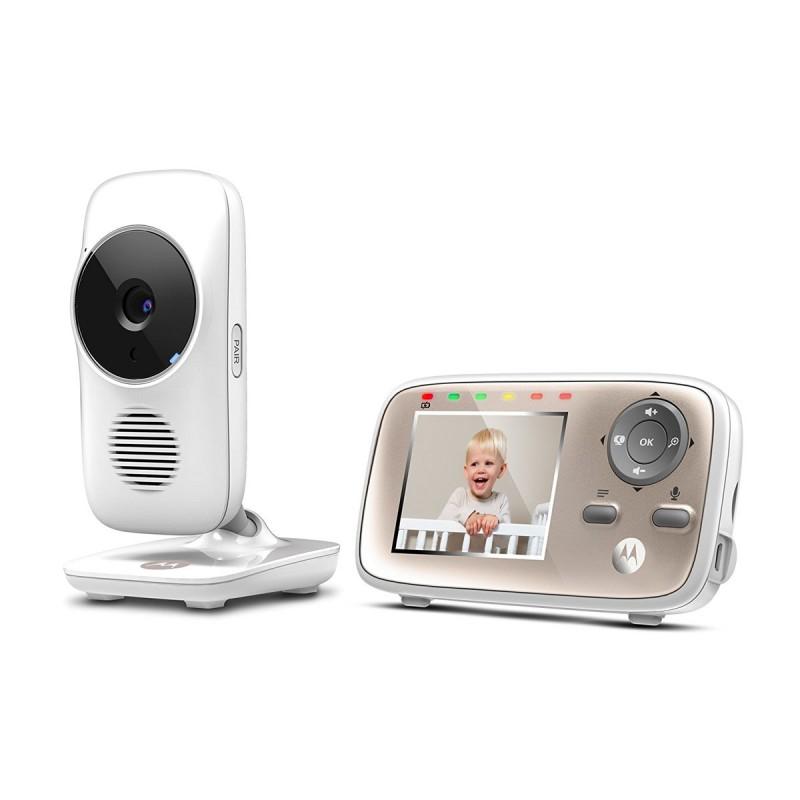 Video Monitor Digital Motorola, raza de actiune 300 m, alimentare 3 x NiMH 2021 shopu.ro