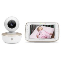 Video Monitor Digital Motorola, functie Wi-Fi, display LCD 5 inch, calitate video 720p, rotire 360°, raza actiune 300 m