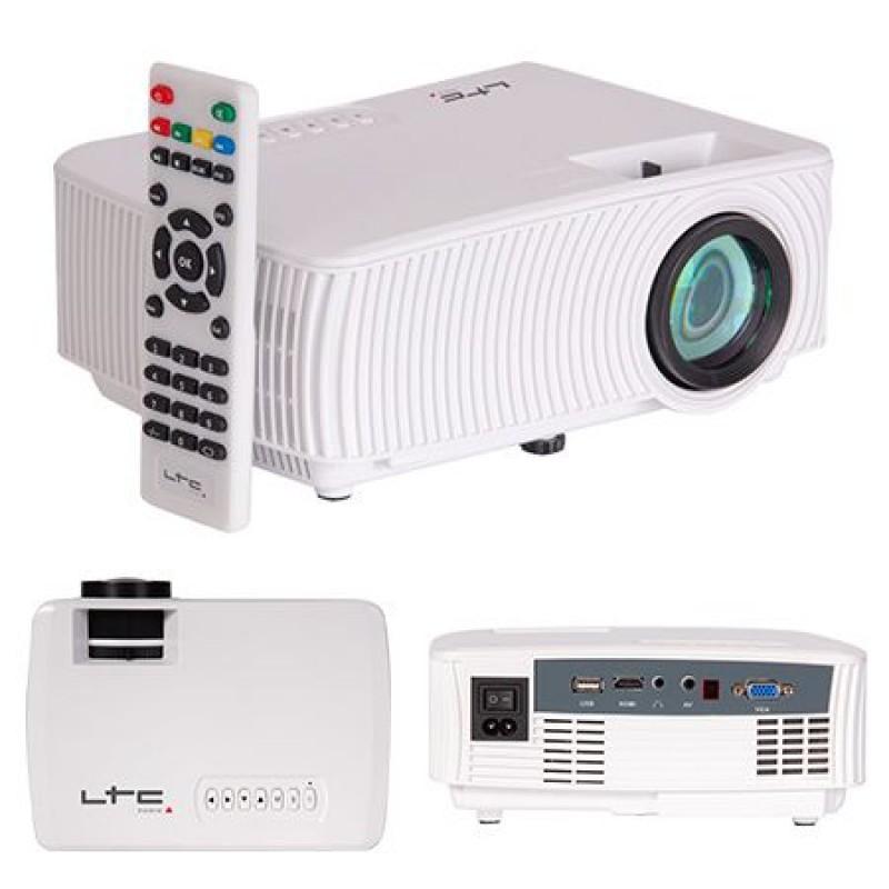 Videoproiector compact wireless, 40 W, LED, 800 x 480, 1000 lumeni, ecran LCD