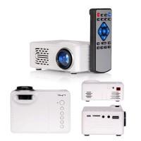 Videoproiector portabil, 320 x 240, 30 lumeni, acumulator 1000 mAh, ecran LCD