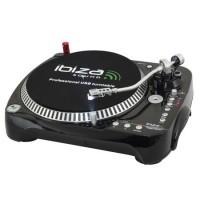 Vinyl player, 3 viteze, iesire phono sau linie, redare USB sau card SD