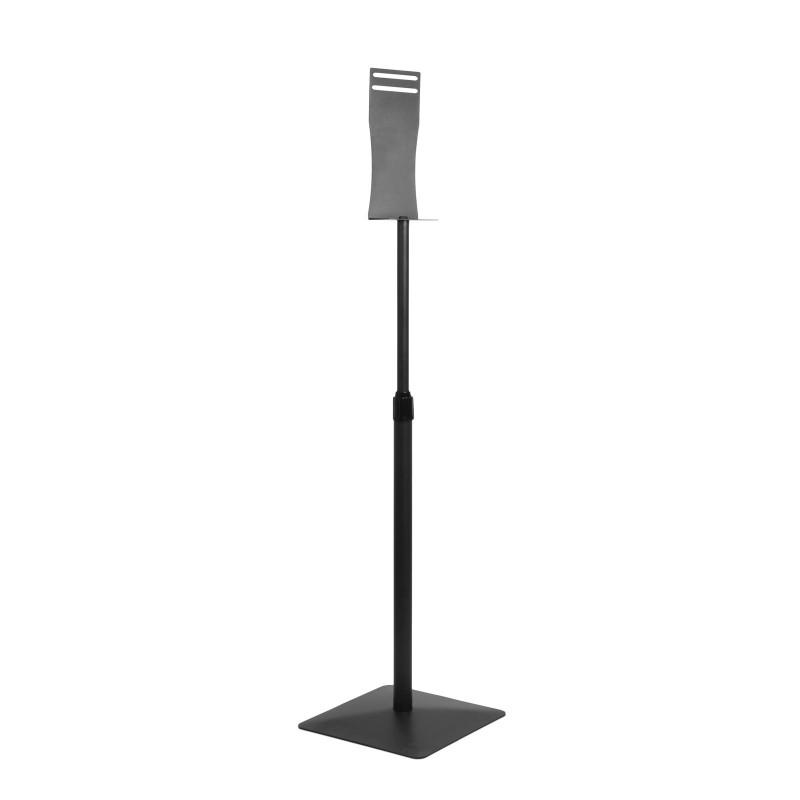 Suport pentru dozator de sapun Vog und Arths, 150 cm, inaltime reglabila, Negru 2021 shopu.ro