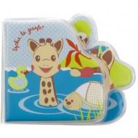 Carte pentru baie Vulli, EVA, 8 pagini, model girafa Sophie