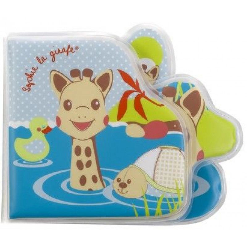 Carte pentru baie Vulli, EVA, 8 pagini, model girafa Sophie 2021 shopu.ro