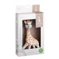 Jucarie pentru dentitie girafa Sophie Vulli, 17 cm, cauciuc, 0 luni+