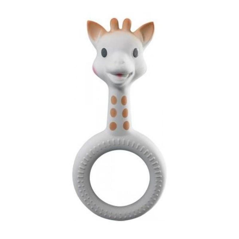 Inel pentru dentitie girafa Sophie Vulli, cauciuc natural, 19 x 12 x 2.5 cm, 3 luni+ 2021 shopu.ro