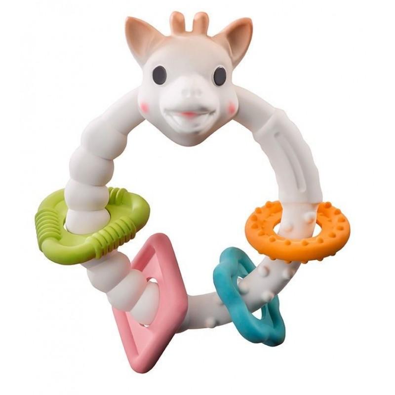 Inel gingival Colo'rings So Pure Vulli, cauciuc natural, 35 x 90 x 53 mm, 3 luni+ 2021 shopu.ro