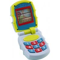 Jucarie interactiva Telefon mobil Vulli, 5 melodii, 3 ani+, Multicolor
