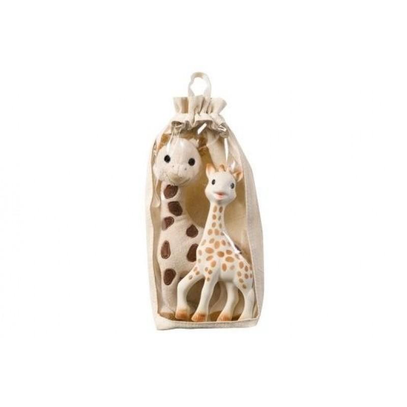 Set 2 girafe Sophie plus/cauciuc Vulli, 0 luni+ 2021 shopu.ro