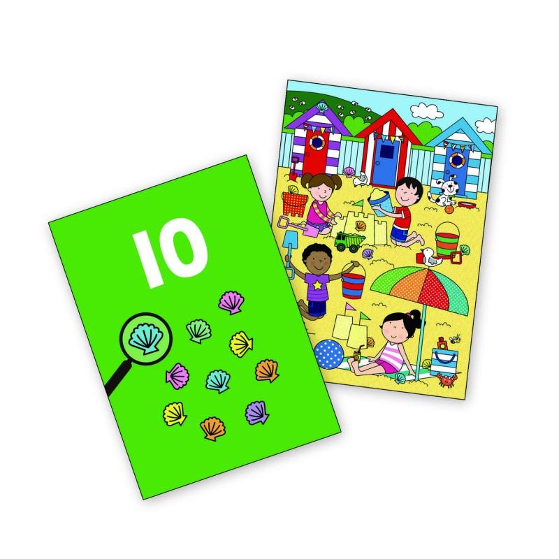 Carte de colorat La mare, 6 imagini reutilizabile, 3 ani+ 2021 shopu.ro