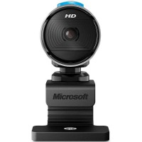 Camera web PC Microsoft LifeCam Studio HD,1280 x 720 px, 5 Mp, CMOS, microfon incorporat, Negru/Gri