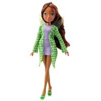 Papusa Winx Zana Frumoasa Layla, articulatii mobile, 3 ani+