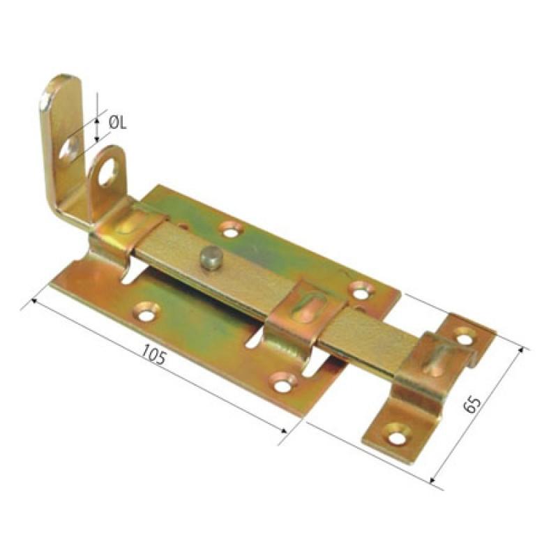 Zavor aplicat cu inel lacat P&P, 65/105 mm imagine