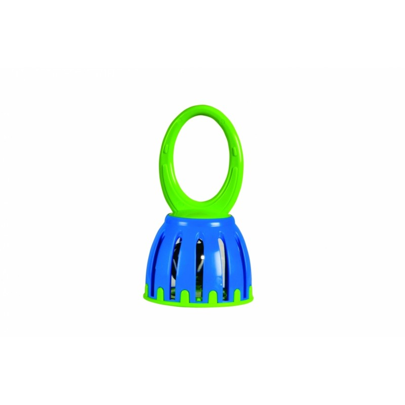 Jucarie zornaitoare Cage Bell Halilit, Verde/Albastru 2021 shopu.ro