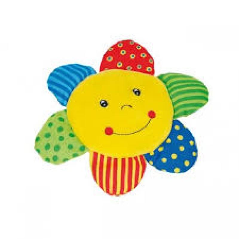 Zornaitoare Soare Goki, 17 cm, bumbac, 0-12 luni, Multicolor 2021 shopu.ro